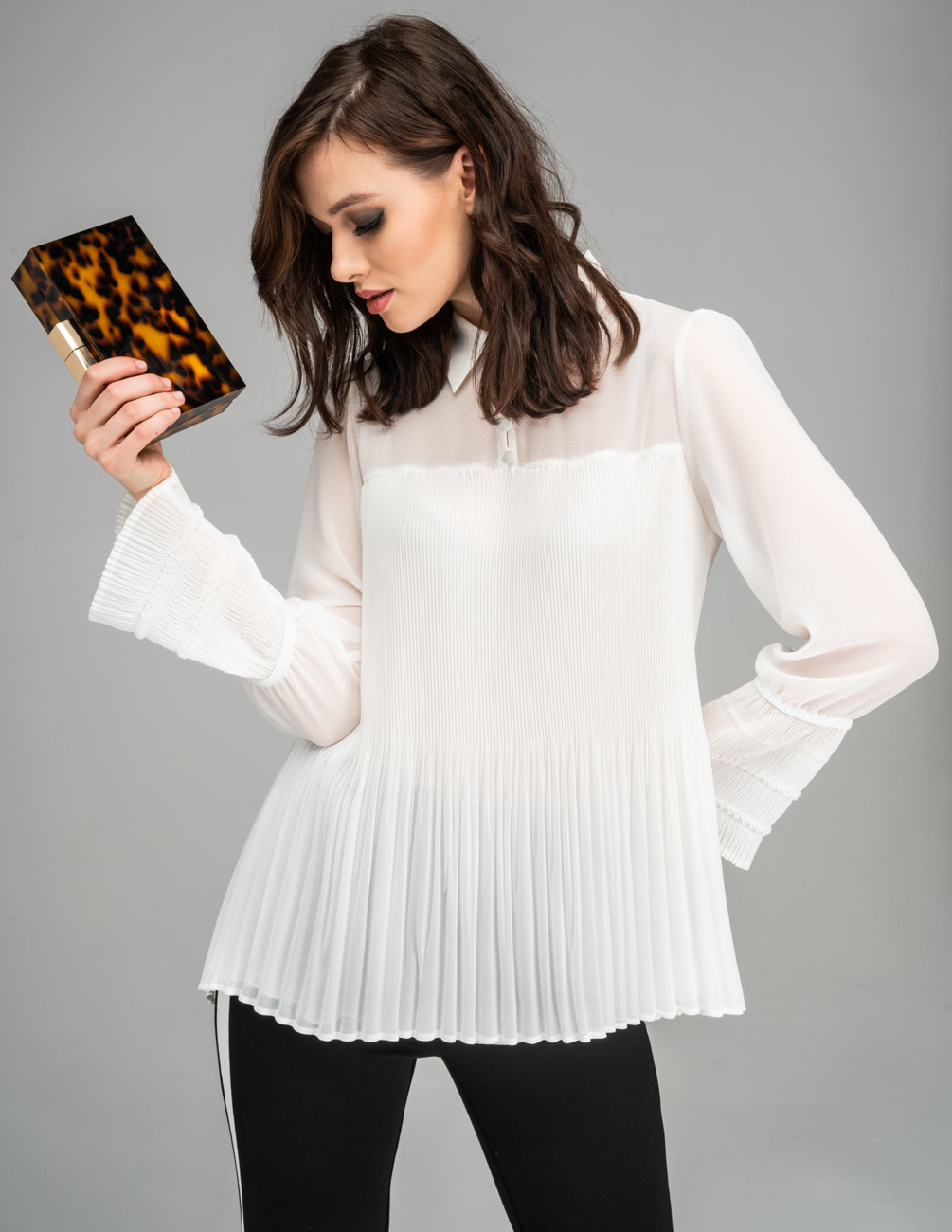Blouse White Fall Winter 2019 Tops Kmx Party